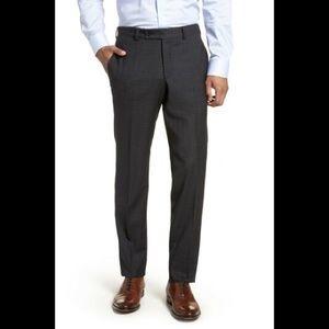 Ted Baker Sz 33 Jefferson Flat Front Wool Pants